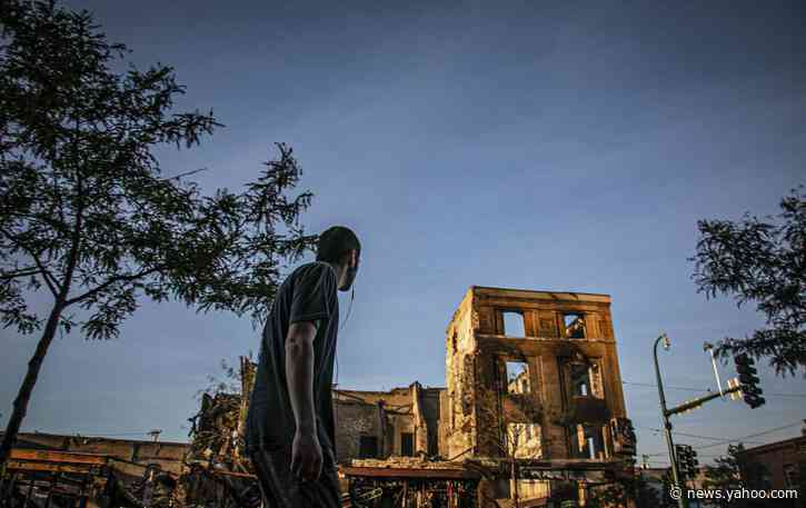 Unrest devastates a city's landmark street of diversity