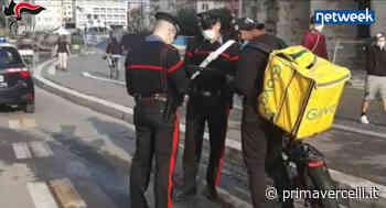 Food delivery: i controlli dei Carabinieri - NotiziaOggi Vercelli