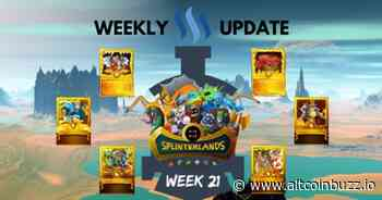 Full Steem Ahead with Splinterlands Week 21 - Game Launches & Updates - Altcoin Buzz