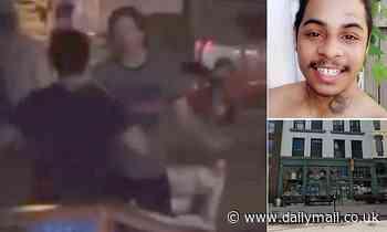 Horrifying moment Black Lives Matter protester is shot dead 'by a white Nebraska bar owner'