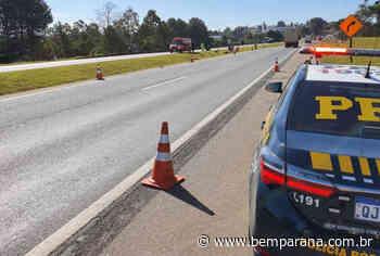 Acidente na BR-116 mata motociclista e pedestre em Quatro Barras - Jornal do Estado