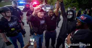'Let's walk': Police in some U.S. states are joining George Floyd protesters