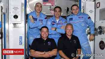 SpaceX Nasa Mission: Astronauts welcomed to the space station