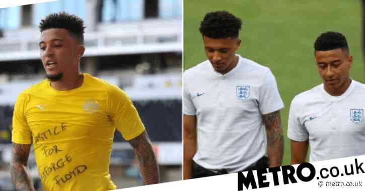 Jesse Lingard backs Jadon Sancho as Dortmund star demands justice for George Floyd