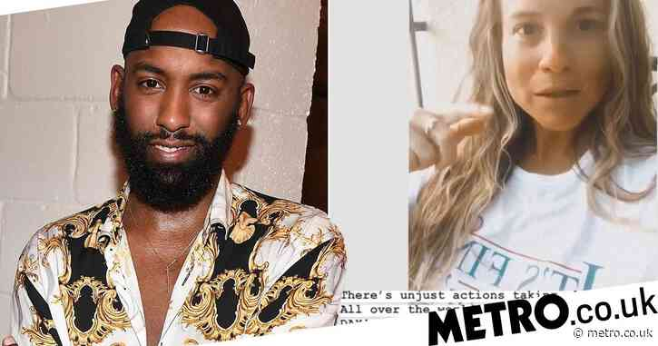 Love Is Blind's Carlton Morton slams co-star Kelly Chase over George Floyd comments