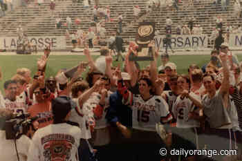 Crane: SU's 1995 lacrosse team lives in history, 2020's was never written - The Daily Orange