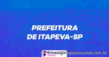 Plano de Estudos do concurso Prefeitura de Itapeva - Estratégia Concursos