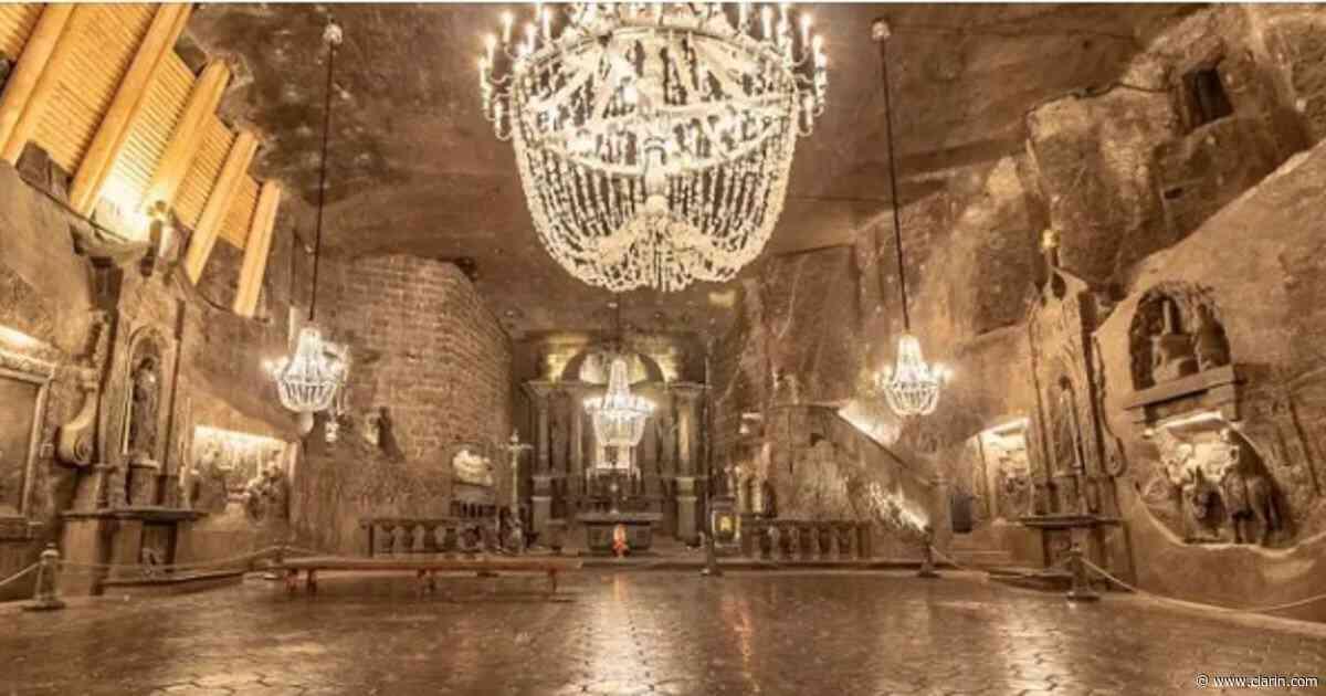 La mina de sal del siglo XIII que sorprende por sus tesoros ocultos - Clarín