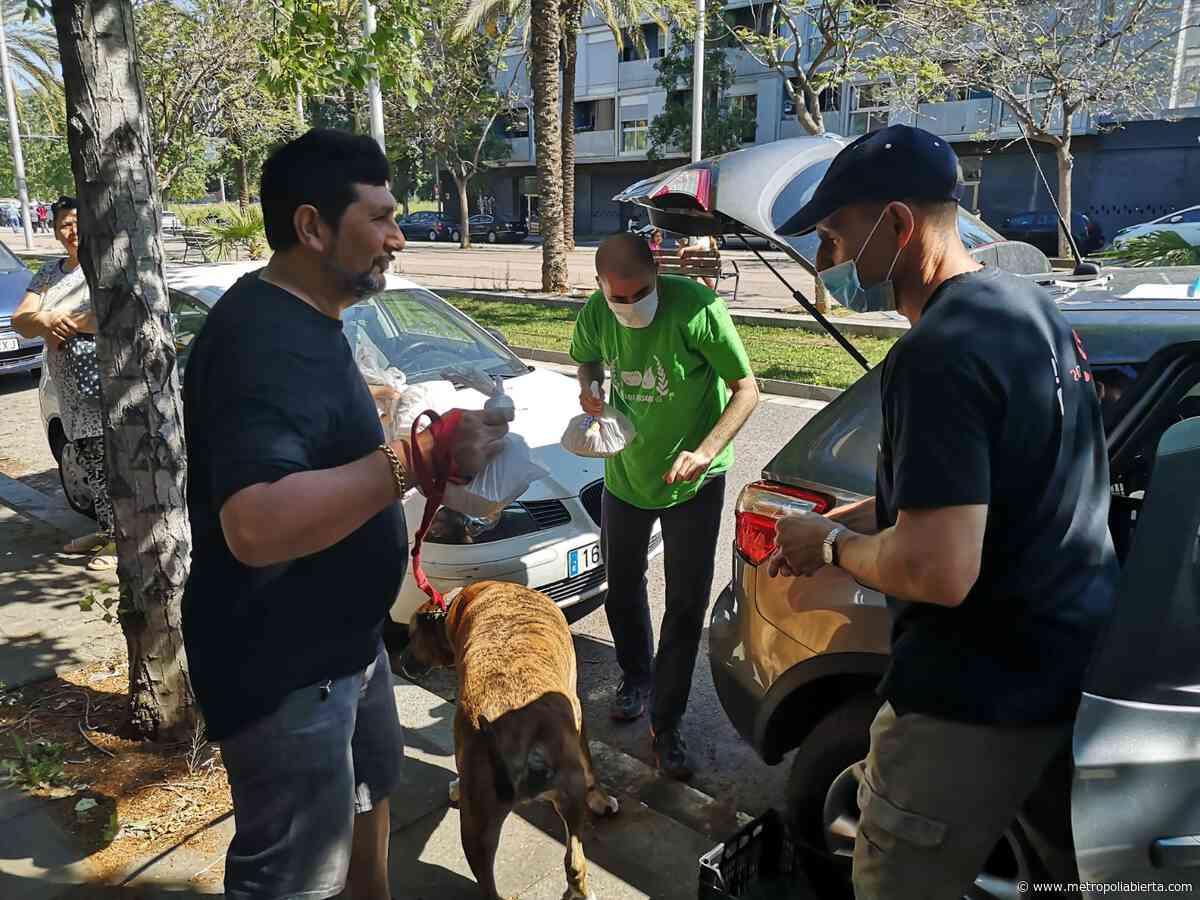 La escuela de La Mina que ayuda a llenar la nevera de sus vecinos - Metropoliabierta.com