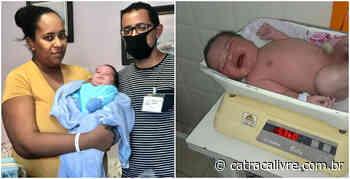 Em parto normal, mulher dá à luz bebê com mais de cinco quilos - Catraca Livre