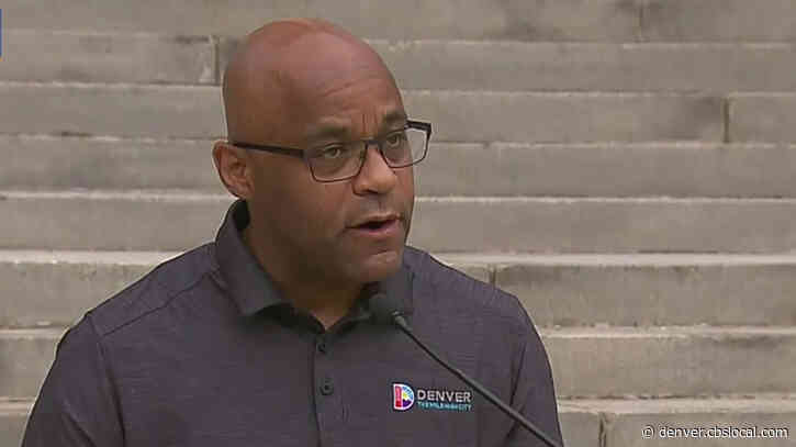 Denver Mayor Urges Protesters To Get Tested For Coronavirus