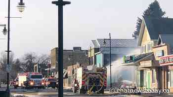Historic Pincher Creek hotel lost to fire - CHAT News Today
