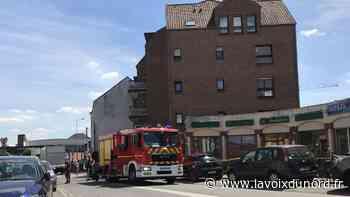Linselles: Le feu prend sur la façade, une personne relogée - La Voix du Nord