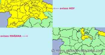 Valladolid, en aviso amarillo por fuertes tormentas | Noticias El Día de Valladolid - El Día de Valladolid