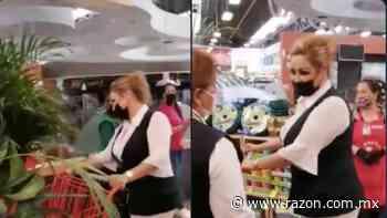Con aplausos sorprenden a enfermera en super de Torreon (VIDEO) - La Razon