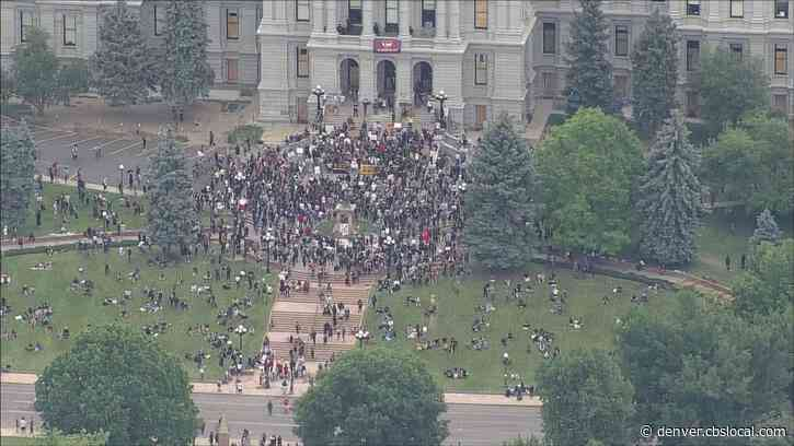 George Floyd Death Protesters Return To Capitol In Denver Sunday