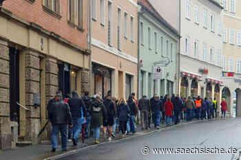 Corona-Protest in Radeberg - Sächsische Zeitung