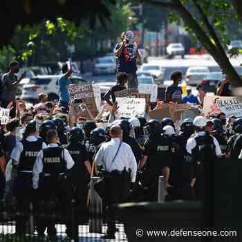 Weekend of Violent Protests Leaves Trail of Damage for Feds