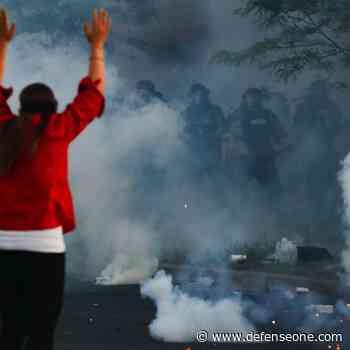 When Civilian Protest Is Labeled 'Urban Warfare'