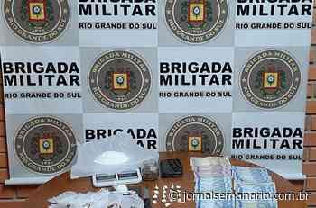 Homem é preso por tráfico de drogas em Carlos Barbosa - jornalsemanario.com.br
