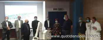 Apparecchio radiografico portatile donato all'ospedale di Gubbio-Gualdo Tadino - www.quotidianodellumbria.it