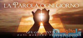 1 Giugno 2020 - Commento al Vangelo - Diocesi di Sora Cassino Aquino Pontecorvo