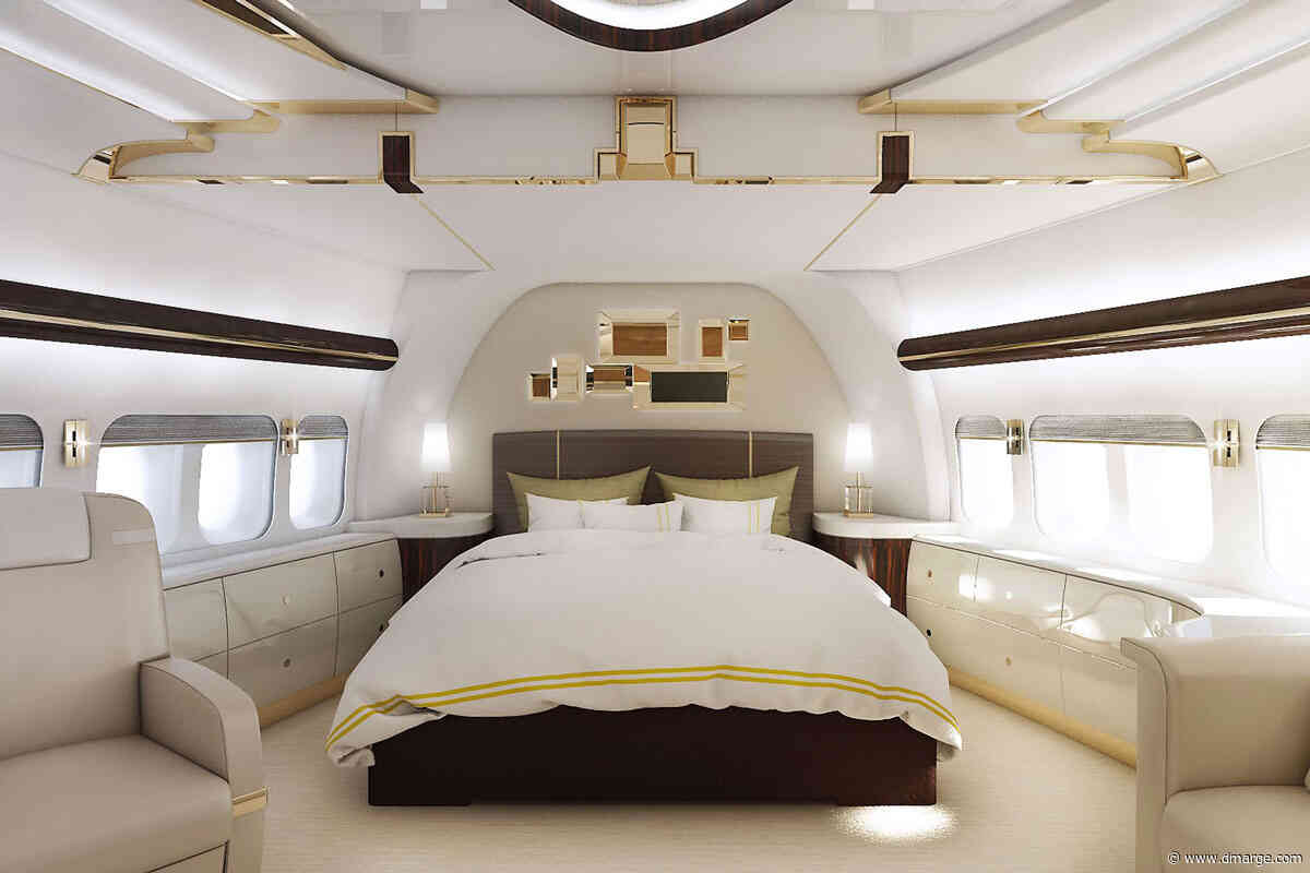 Super Rich Traveller Gives You Sneak Peek Into Incredible $200,000,000 Jet
