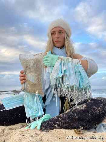 Face masks wash ashore in Sydney after Singaporean ship loses containers - The Independent