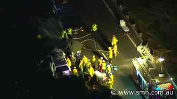 Two dead after crash in Sydney's south - Sydney Morning Herald