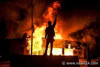 News24.com   George Floyd protesters: 'We don't need a curfew, we need change'