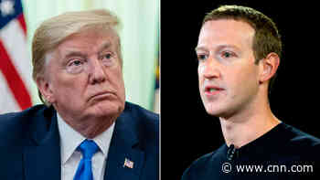 Trump and Zuckerberg spoke on the phone