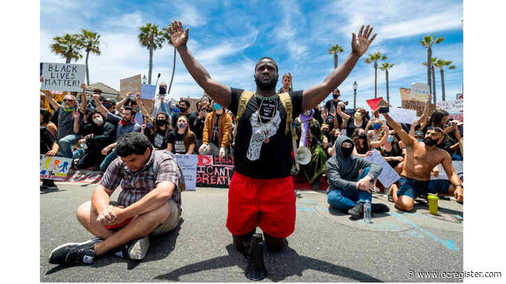 Peaceful protests, looting, arrests grow across Southern California in wake of George Floyd killing
