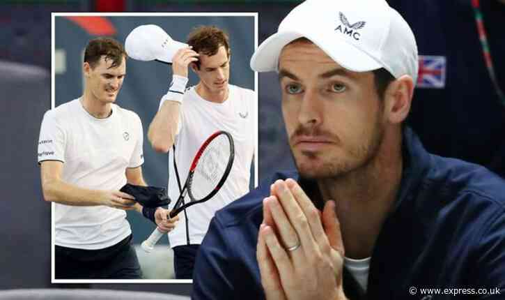 Andy Murray's UK tennis comeback confirmed as he teams up with brother Jamie - Express
