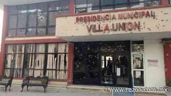 Tras ataque, restauran presidencia municipal de Villa Union - La Razon