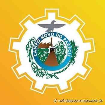 Prefeitura Municipal de Campo Novo do Parecis MT 2020: Último dia de inscrição! - Notícias Concursos