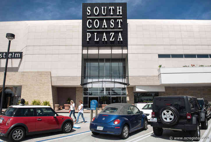 South Coast Plaza won't reopen Monday, as Costa Mesa goes to curfew