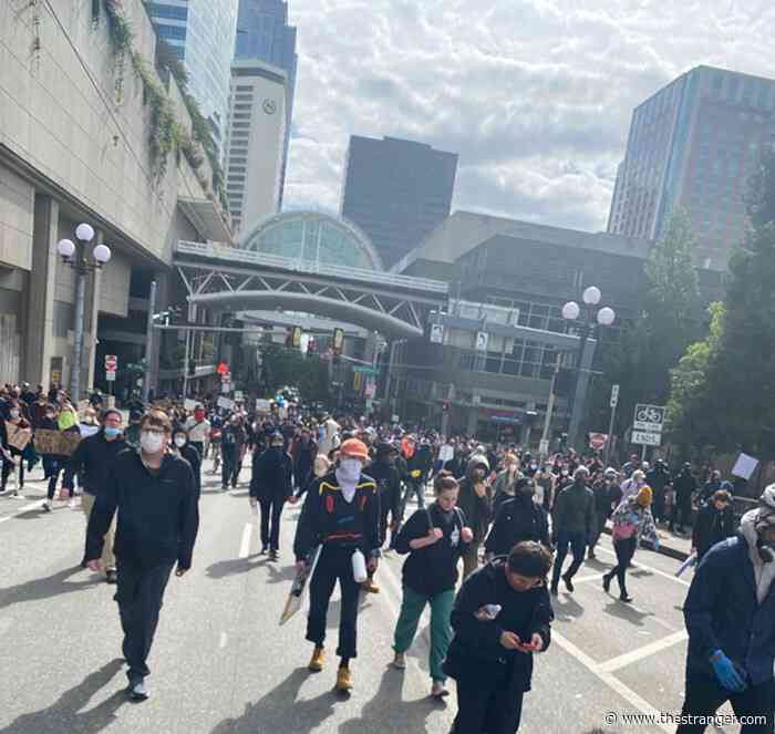 Thousands Gather for a Third Day of Protests in Seattle