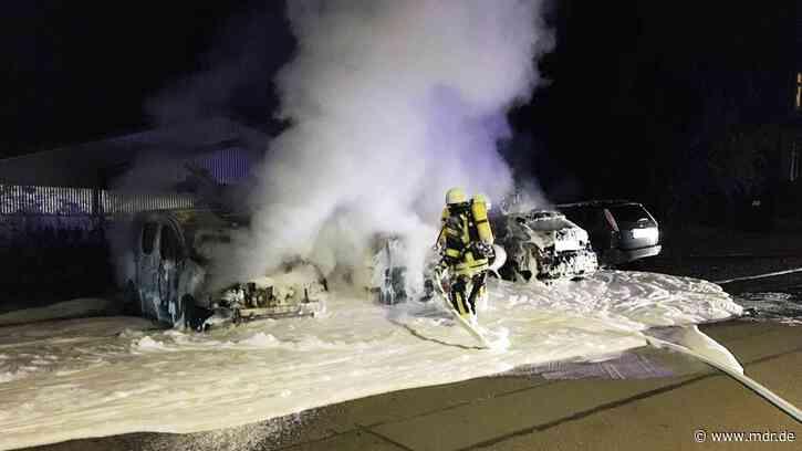 Brandstiftung: Kripo ermittelt nach Autobränden in Gotha - MDR
