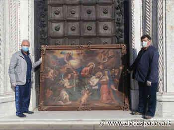 Piove di Sacco. Al via il restauro della tela ad olio del 700 raffigurante la morte di San Giuseppe - Diocesi di Padova