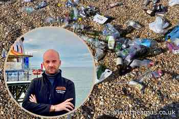 Litter on Brighton beach 'worse than after Pride' in lockdown