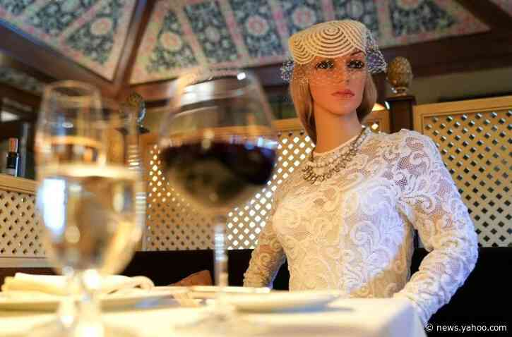 Glamorous dummies enforce pandemic safety at Michelin-starred Virginia restaurant