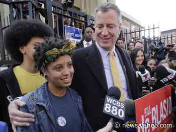 NYC Mayor Bill de Blasio's daughter was arrested, as protests in New York continue to turn violent