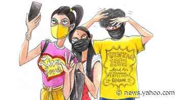Our masked identities: Cartoons of India's new normal