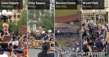 Chants, Clashes and Hundreds of Arrests: What Happened at the Protests in New York City