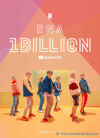 BTS' 'DNA' music video tops 1b YouTube views - The Korea Herald