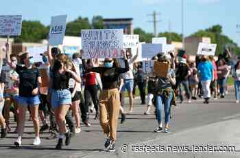 Hundreds protest death of George Floyd Saturday, this time at Battlefield and Glenstone