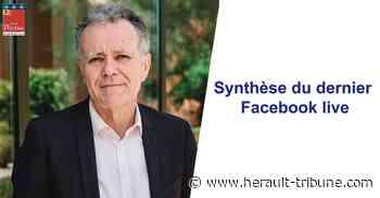 PEZENAS - Synthèse du Facebook live sur l'été 2020 - Hérault-Tribune