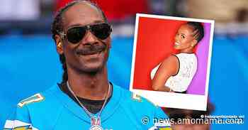 Snoop Dogg's Wife Shante Broadus Stuns in Black and White Dress with Minimal Jewelry in a Photo - AmoMama