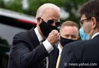 George Floyd: Joe Biden visits site of Wilmington protests during weekend of turmoil