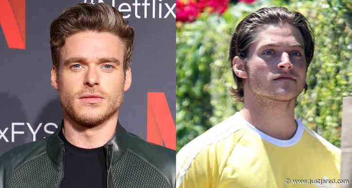 Richard Madden & Froy Gutierrez Attend Protest Together in Los Angeles